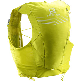 Salomon Adv Skin 12 Backpack Set sulphur spring